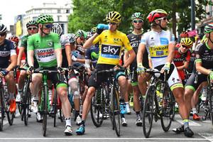GREIPEL André, FROOME Christopher, SAGAN Peter: Tour de France 2015 - 8. Stage