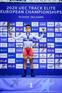 MORA VEDRI Sebastian: UEC Track Cycling European Championships 2020 – Plovdiv