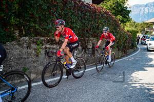 BYSTRØM Sven Erik, LEKNESSUND Andreas: UEC Road Cycling European Championships - Trento 2021