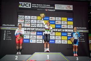 VOINOVA Anastasiia, HINZE Emma, LEE Wai Sze: UCI Track Cycling World Championships 2020