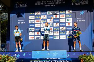 EVENEPOEL Remco, COLBRELLI Sonny, COSNEFROY Benoit: UEC Road Cycling European Championships - Trento 2021