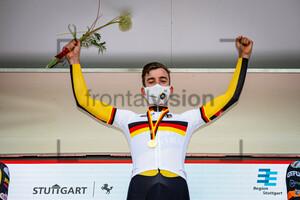 HEßMANN Michel: National Championships-Road Cycling 2021 - ITT Elite Men U23