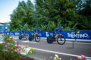 LONGO BORGHINI Elisa, CAVALLI Marta, CECCHINI Elena: UEC Road Cycling European Championships - Trento 2021