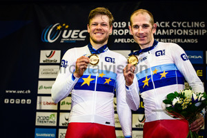 HANSEN Lasse Norman, MORKOV Michael: UEC Track Cycling European Championships 2019 – Apeldoorn