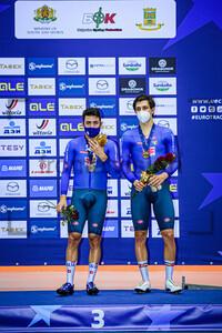 LAMON Francesco, MORO Stefano: UEC Track Cycling European Championships 2020 – Plovdiv