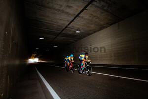 HOLOVASH Oleksandr, KONONENKO Mykhaylo, NIKULIN Daniil: UEC Road Cycling European Championships - Trento 2021