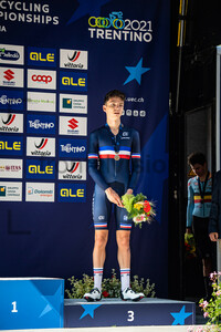 LE HUITOUZE Eddy: UEC Road Cycling European Championships - Trento 2021