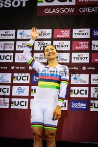 LEE Wai Sze: UCI Track Cycling World Cup 2019 – Glasgow