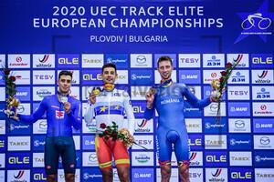 DONEGA Matteo, MORA VEDRI Sebastian, CRISTA Daniel: UEC Track Cycling European Championships 2020 – Plovdiv