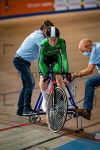 SIMMONS Maia: UEC Track Cycling European Championships (U23-U19) – Apeldoorn 2021