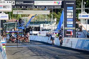 VAN VLEUTEN Annemiek, LONGO BORGHINI Elisa: UCI Road Cycling World Championships 2020