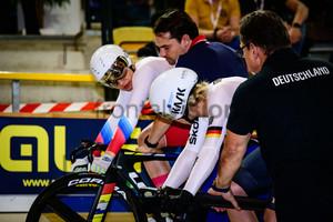 VOINOVA Anastasiia , HINZE Emma: UEC Track Cycling European Championships 2019 – Apeldoorn