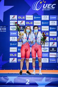 KLIMOVA Diana, NOVOLODSKAYA Maria: UEC Track Cycling European Championships 2020 – Plovdiv