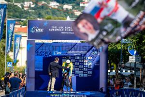 POGAČAR Tadej: UEC Road Cycling European Championships - Trento 2021