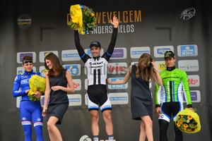 Arnaud Démare, John Degenkolb, Peter Sagan: 76. Gent - Wevelgem 2014