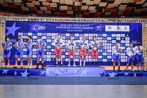 Czech Republic, Russia, Greece: UEC Track Cycling European Championships 2020 – Plovdiv