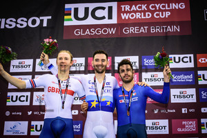 STEWART Mark, THOMAS Benjamin, LAMON Francesco: UCI Track Cycling World Cup 2019 – Glasgow