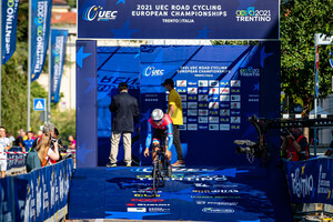 ILIĆ Ognjen: UEC Road Cycling European Championships - Trento 2021