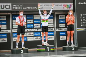 REUSSER Marlen, VAN DER BREGGEN Anna, VAN DIJK Ellen: UCI Road Cycling World Championships 2020