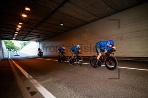 DE MARCHI Alessandro, GANNA Filippo, SOBRERO Matteo: UEC Road Cycling European Championships - Trento 2021