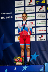 ABAIDULLINA Inna: UEC Track Cycling European Championships (U23-U19) – Apeldoorn 2021