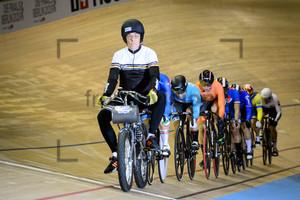 Keirin: UCI Track Cycling World Cup 2018 – Berlin