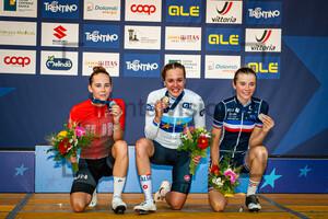 VAS Kata Blanka, ZANARDI Silvia, MUZIC Evita: UEC Road Cycling European Championships - Trento 2021