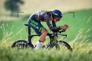 VONHOF Vincent: National Championships-Road Cycling 2021 - ITT Elite Men U23