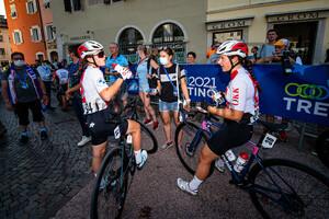 ZIMMERMANN Fiona: UEC Road Cycling European Championships - Trento 2021
