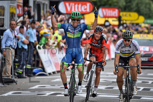 MATTHEWS MichaelSAGAN Peter: 103. Tour de France 2016 - 10. Stage