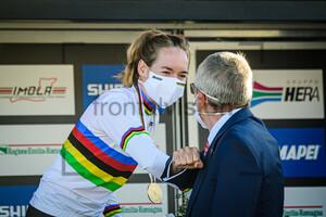 VAN DER BREGGEN Anna, BACH Thomas: UCI Road Cycling World Championships 2020