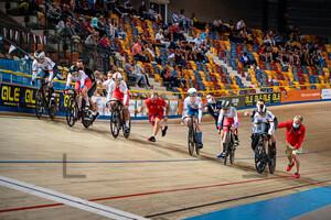 PRÖPSTER Alessa Catriona, FINUCANE Emma, ANDREEVA Ksenia, SEREMAK Nikola, ALBERS Katharina: UEC Track Cycling European Championships (U23-U19) – Apeldoorn 2021