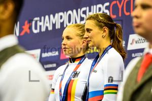 HINZE Emma, WELTE Miriam: UEC European Championships 2018 – Track Cycling