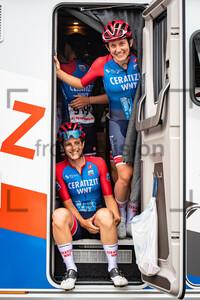 CONFALONIERI Maria Giulia, HAMMES Kathrin: Giro d´Italia Donne 2021 – 3. Stage