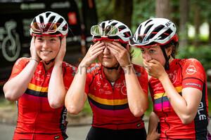 SCHOENEMEYER Lotta, LAGERHAUSEN Marie, KLOTZ Sandra: National Championships-Road Cycling 2021 - RR Women