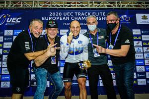 LEVY Maximilian: UEC Track Cycling European Championships 2020 – Plovdiv