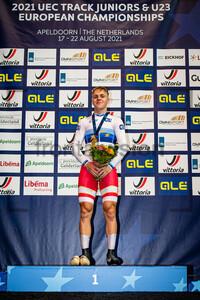 MATHIESEN Phillip: UEC Track Cycling European Championships (U23-U19) – Apeldoorn 2021