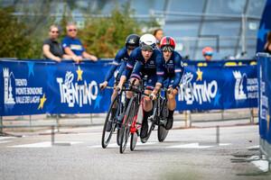 VERHULST Gladys, DEMAY Coralie, DUVAL Eugénie: UEC Road Cycling European Championships - Trento 2021