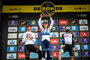 BRENNAUER Lisa, VAN VLEUTEN Annemiek, BROWN Grace: Ronde Van Vlaanderen 2021 - Women