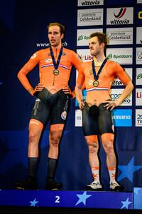 VAN SCHIP Jan, HAVIK Yoeri: UEC Track Cycling European Championships 2019 – Apeldoorn