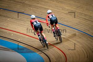 MARTINI Johanna, GSCHWENTNER Leila: UEC Track Cycling European Championships (U23-U19) – Apeldoorn 2021