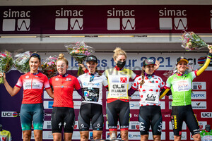 HENGEVELD Daniek, UNEKEN Lonneke, GEORGI Pfeiffer, REUSSER Marlen, JACKSON Alison, VOS Marianne: SIMAC Ladie Tour - 3. Stage