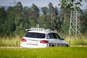 Team Car: National Championships-Road Cycling 2021 - ITT Elite Men U23
