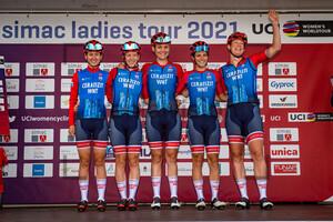 CERATIZIT - WNT PRO CYCLING TEAM: SIMAC Ladie Tour - 1. Stage