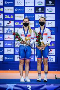 KENNY Laura, BARKER Elinor: UEC Track Cycling European Championships 2020 – Plovdiv