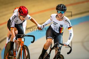 SIMON Jette, EBERLE Lana: UEC Track Cycling European Championships (U23-U19) – Apeldoorn 2021