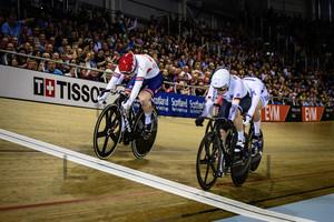 MARCHANT Katy, HINZE Emma, GROS Mathilde, SHMELEVA Daria, LOS Urszula, BISSOLATI Elena: UCI Track Cycling World Cup 2019 – Glasgow