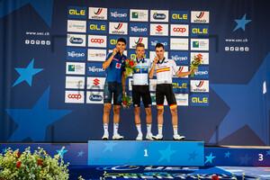 BARONCINI Filippo, NYS Thibau, PESQUERA Juan: UEC Road Cycling European Championships - Trento 2021