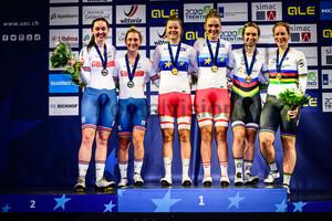 ARCHIBALD Katie, KENNY Laura, DIDERIKSEN Amalie, LETH Julie, PIETERS Amy, WILD Kirsten: UEC Track Cycling European Championships 2019 – Apeldoorn