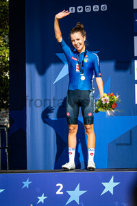CIABOCCO Eleonora: UEC Road Cycling European Championships - Trento 2021
